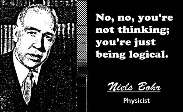 NIELS BOHR CLICK TO ENLARGE