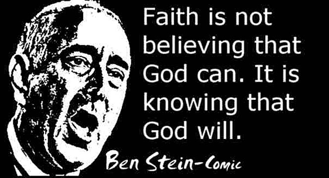 BEN STEIN CLICK TO ENLARGE