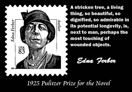 EDNA FERBER CLICK TO ENLARGE