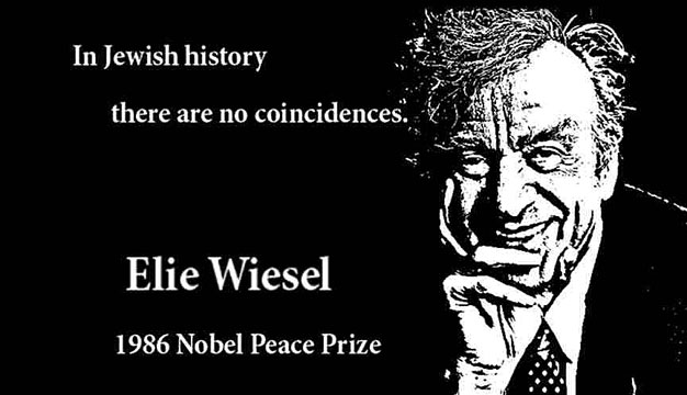 ELIE WIESEL CLICK TO ENLARGE