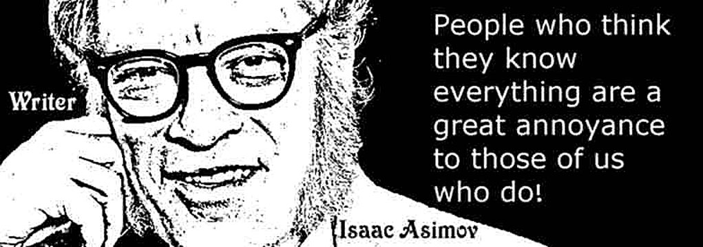 ISAAC ASIMOV CLICK TO ENLARGE