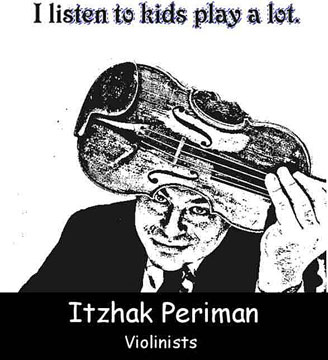 ITZHAK PERIMAN CLICK TO ENLARGE