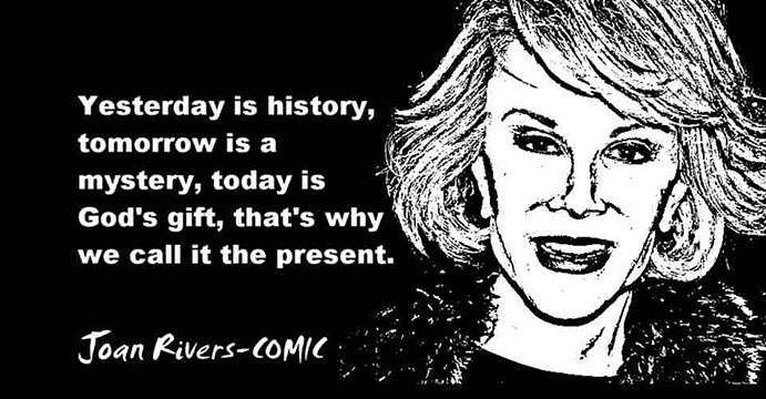 JOAN RIVERS CLICK TO ENLARGE