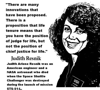 JUDITH RESNIK CLICK TO ENLARGE