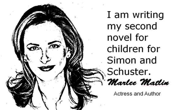 MARLEE MATLIN CLICK TO ENLARGE