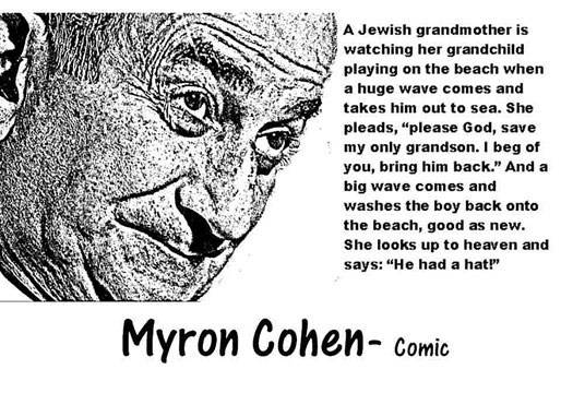 MYRON COHEN CLICK TO ENLARGE
