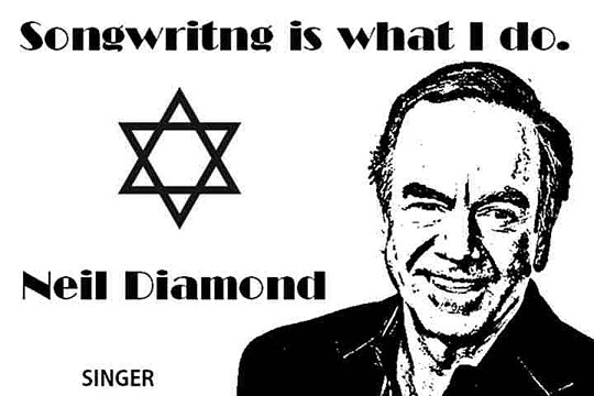 NEIL DIAMOND CLICK TO ENLARGE