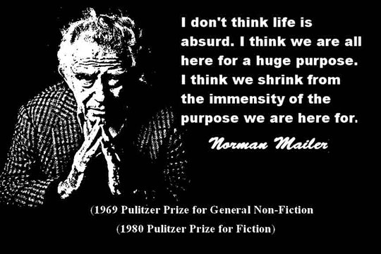 NORMAN MAILER CLICK TO ENLARGE