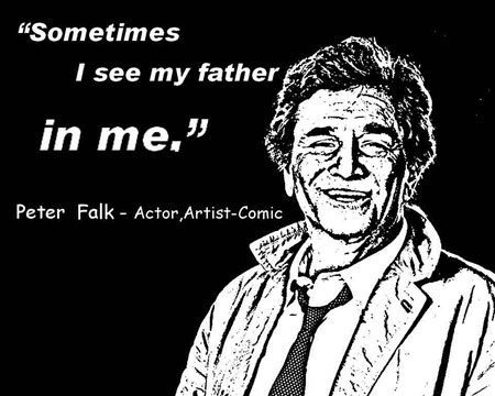 PETER FALK CLICK TO ENLARGE