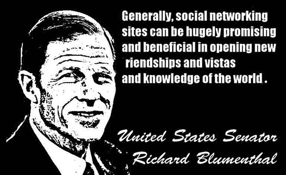 RICHARD BLUMENTHAL CLICK TO ENLARGE