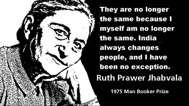 RUTH PRAWER JHABVALA CLICK TO ENLARGE