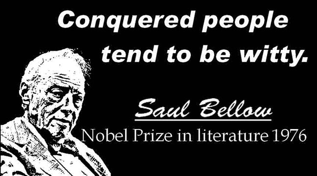 SAUL BELLOW CLICK TO ENLARGE