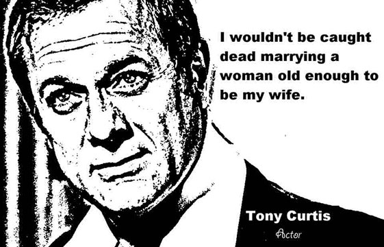 TONY CURTIS CLICK TO ENLARGE